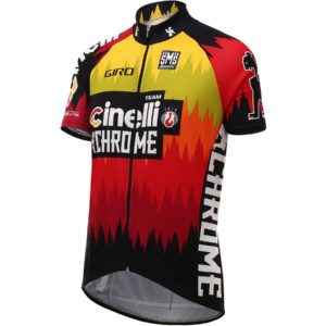 Santini-Cinelli-Chrome-Jersey-2016-Short-Sleeve-Jerseys-Orange-SS16-CAS2515S